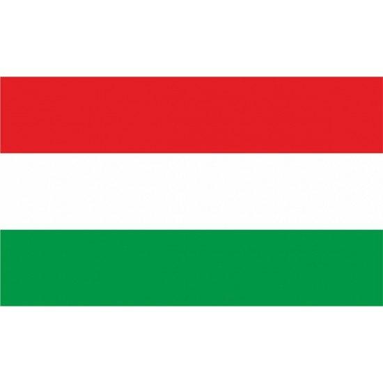 Magyar zászló, termék jelölő - matrica, tábla 10×6 cm-től