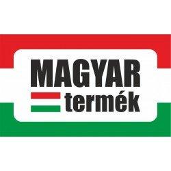 Magyar termék zászlóval, termék jelölő - matrica, tábla 10×6 cm-től