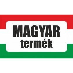 Magyar termék, származási országot jelölő - matrica, tábla 10×6 cm-től