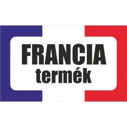 Francia termék, származási országot jelölő - matrica, tábla 10×6 cm-től