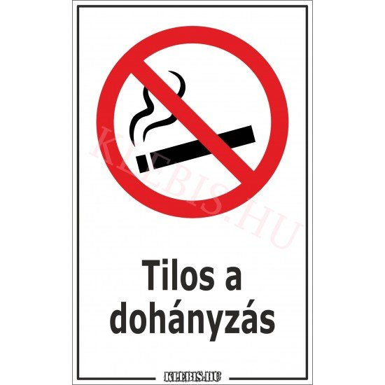 leszokni a dohányzásról matrica