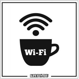 Wi-Fi jelzés 3 vagy 5 mm-es műanyag tábla, 10×10 cm-től