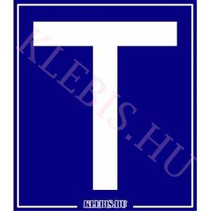 T betű