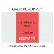 Klasszikus Pop-Up pult  - Nyomattal