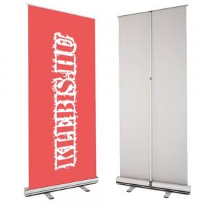 Klasszikus Roll-Up 85 cm - Nyomattal