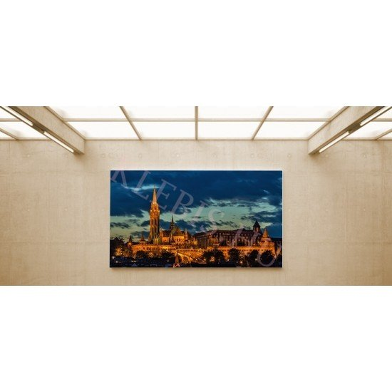 Budapest - vászonkép, vászonfotó, vakráma 45 × 30 cm