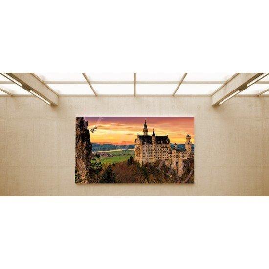 Kristin vár - vászonkép, vászonfotó, vakráma 45 × 30 cm