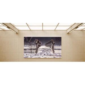 Fahíd - vászonkép, vászonfotó, vakráma 45 × 30 cm