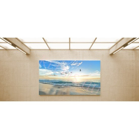 Szürkület - vászonkép, vászonfotó, vakráma 45 × 30 cm