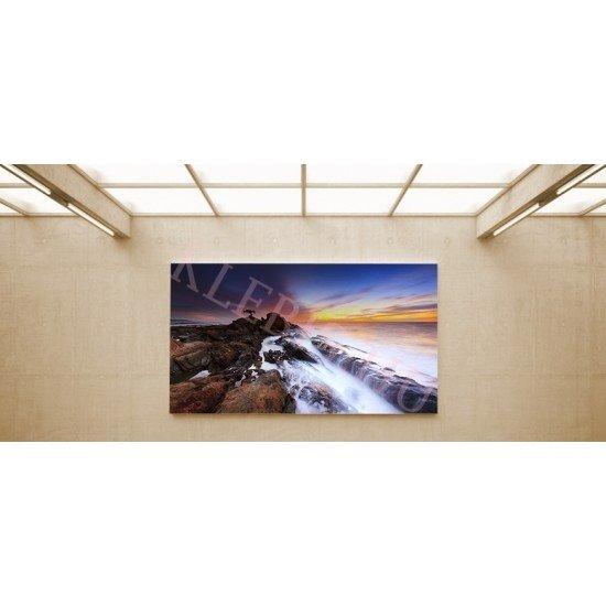 Tengerpart - vászonkép, vászonfotó, vakráma 45 × 30 cm