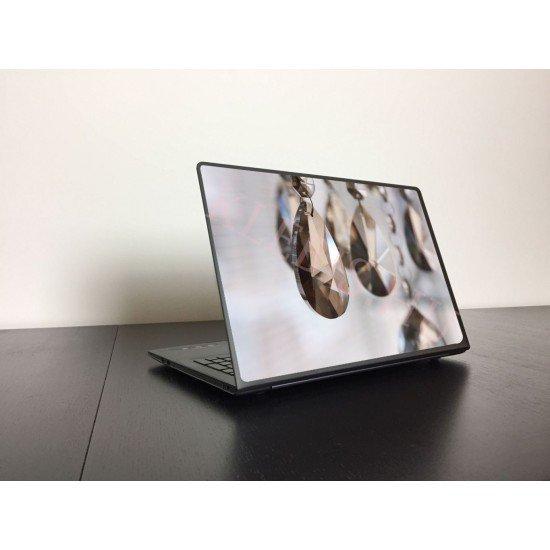 Kristálycsillár laptop matrica